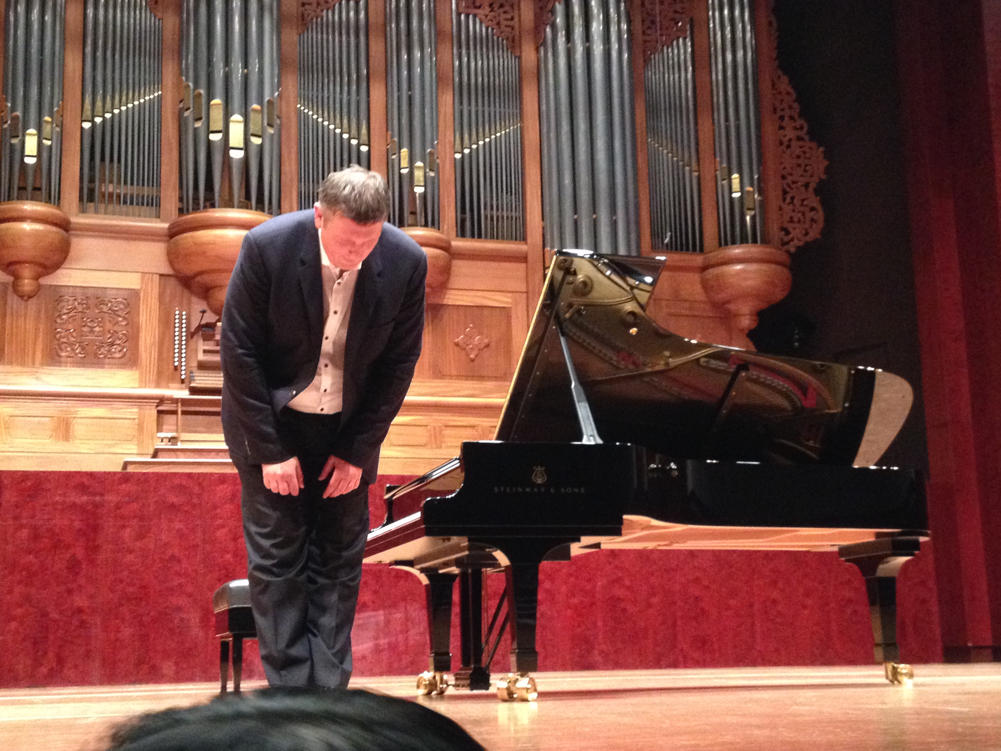 Boris Berezovsky Piano Recital Review 10 June 2014 貝瑞佐夫斯基鋼琴獨奏會
